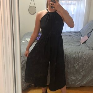 Anthropologie halter jumpsuit
